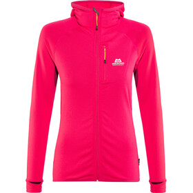 Mountain Equipment W's Eclipse Hooded Jacket Virtual Pink/Cranberry